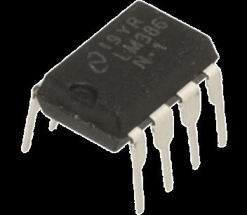 LM386 versterker ic