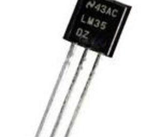 LM35DZ TO-92 temperatuur sensor