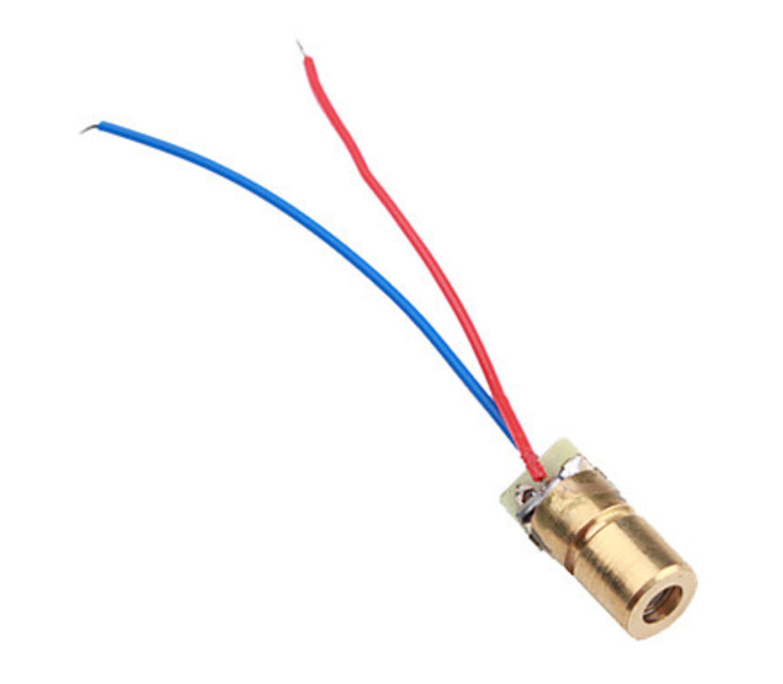 Laser 5v 25mA rood