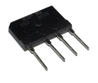 GBJ2510  Gelijkrichter 1000V 25A
