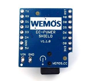 WeMos D1 Mini DC Power Shield