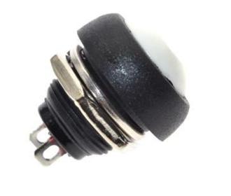 PBS33B drukknop groen terugverend maakcontact