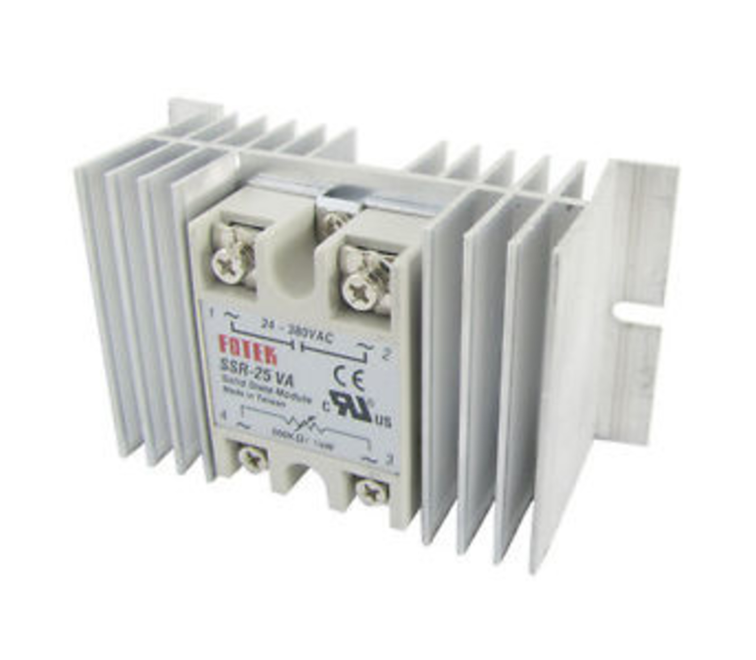 Koelelement tbv solid state relais 25A tot 100A SSR