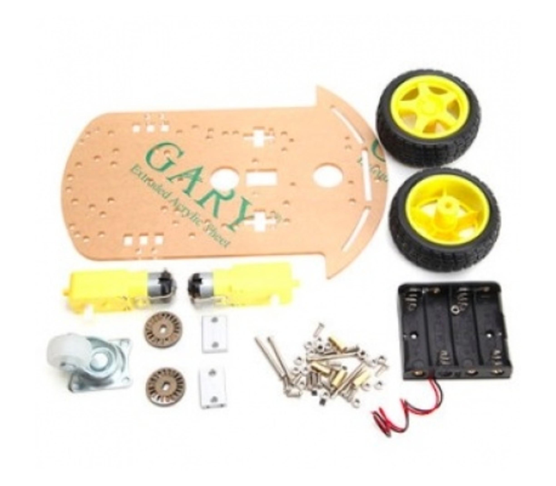robot auto chassis platform 2wd