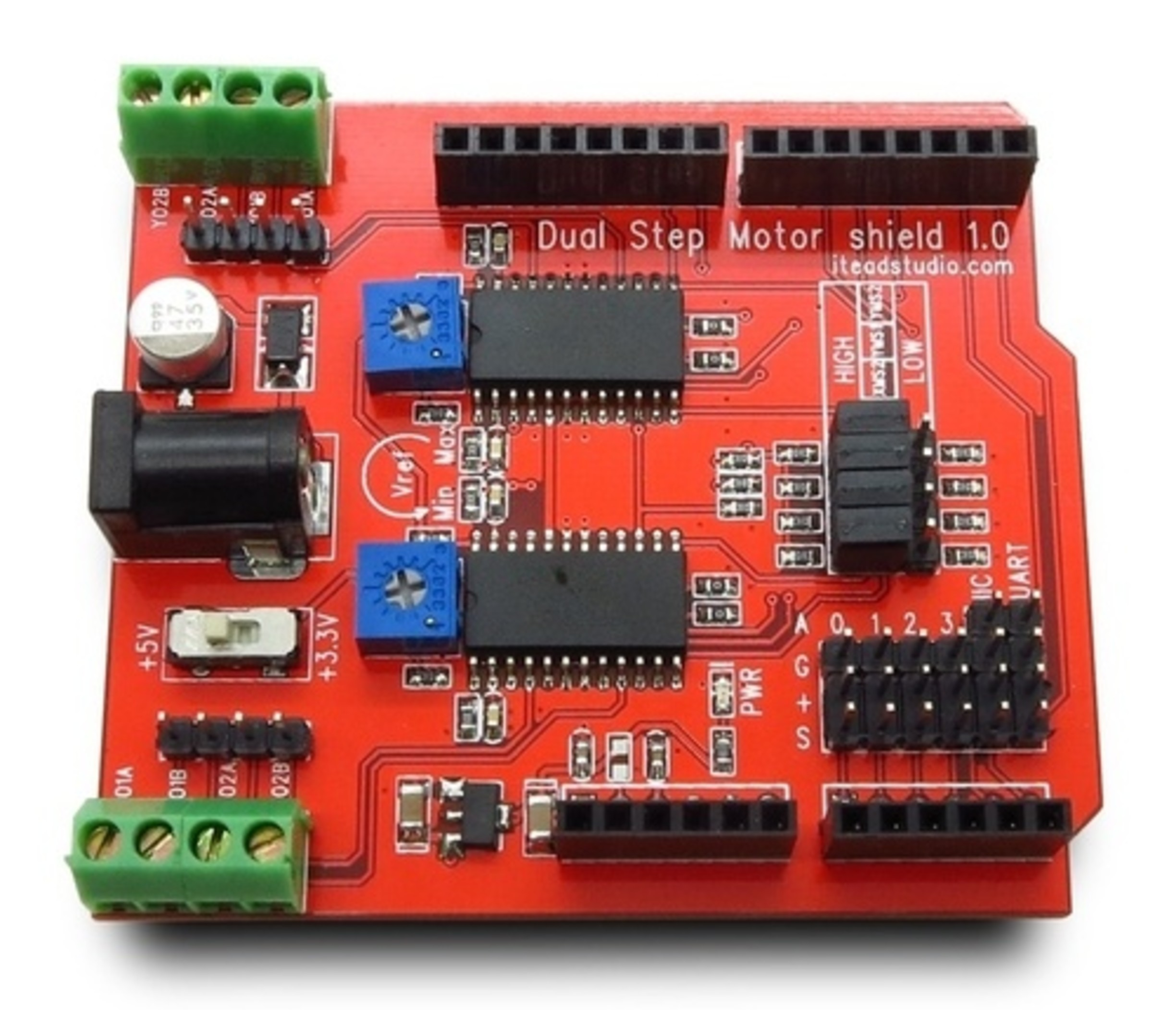 Dual step motor shield v1.1