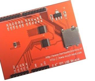 2.4 inch tft touchscreen shield