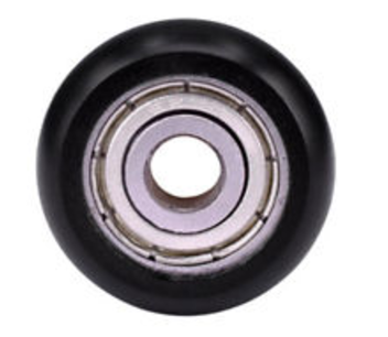 Nylon pulley lager zwart