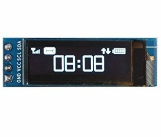 Oled display 0.91 I2C  3,3V-5V wit