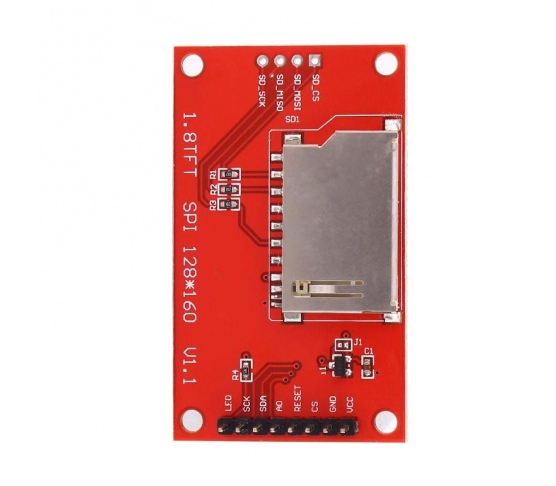 1.8 inch TFT SPI Serial Module LCD kleuren display