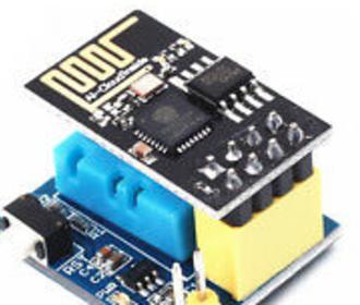 Esp-01 luchtvochtigheid sensor