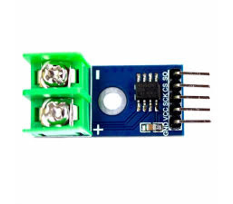 Max6675 module met thermokoppel