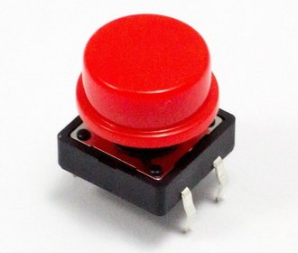 Push button set met kap 25 stuks in kunststof box