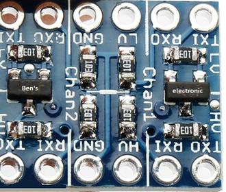 I2C-UART-SPI Logic level converter Bi-Directional