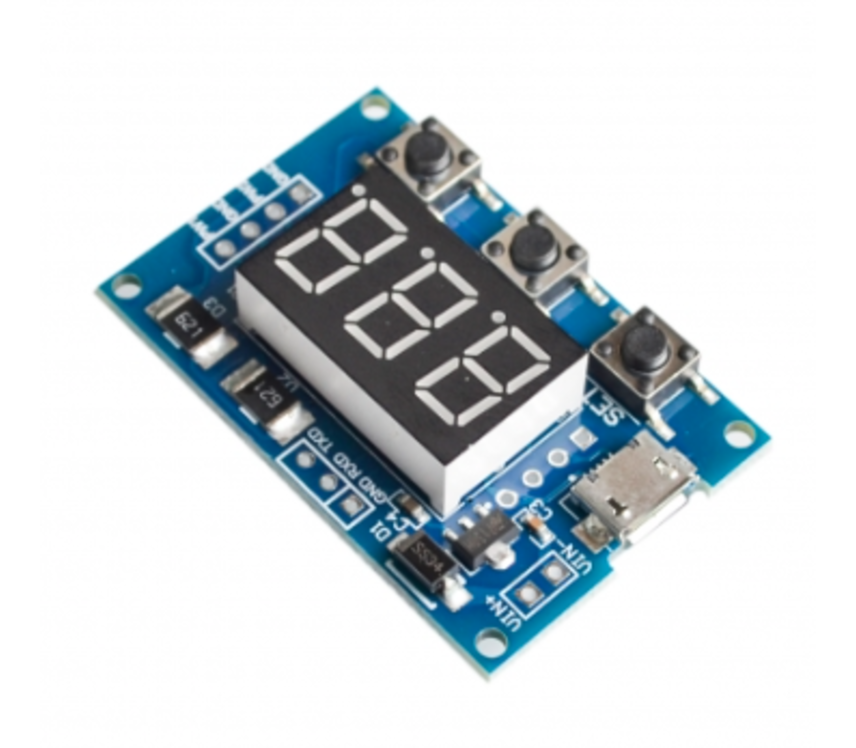 2 kanaals onafhankelijke PWM sturings module met display