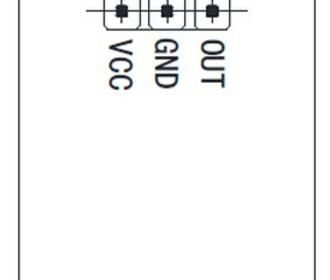 Capacitieve en  schakelaar en  met blauwe verlichting