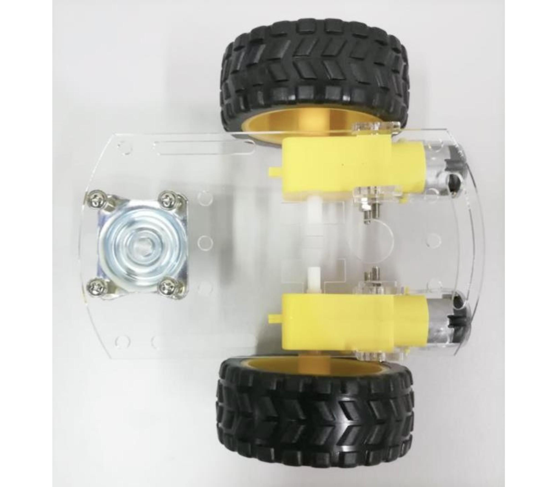 Kleine robot auto chassis platform 2wd