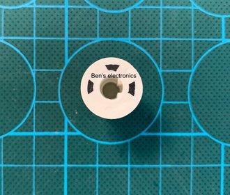 Potentiometer knop tbv rotary encoder