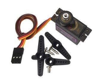 MG90D digitale mini servo metalen mechanisme 180