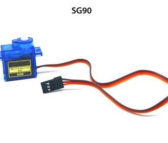 SG90 mini digitale servo 360 graden