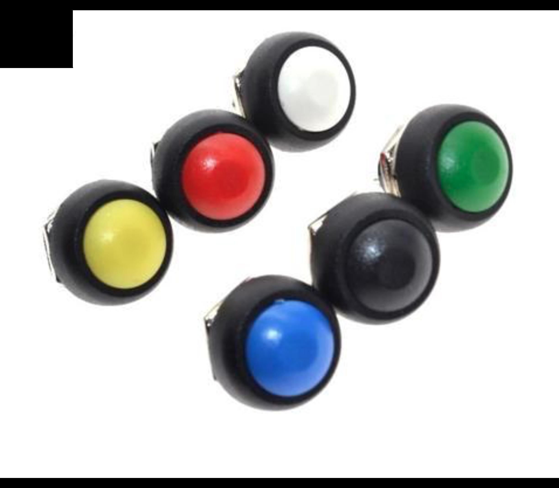 PBS1-11A drukknop groen vasthoudend maakcontact