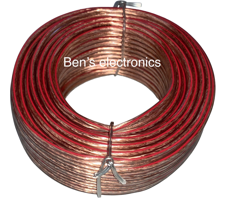 10 meter Luidspreker kabel 2 x 0,75²