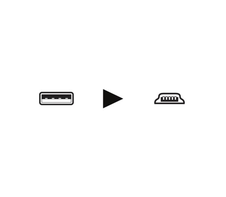 USB 2.0 A PLUG NAAR MINI-USB B PLUG 2.5m