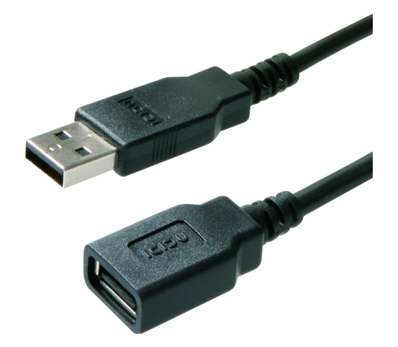 USB verlengkabel 1.3m (hoge kwaliteit)