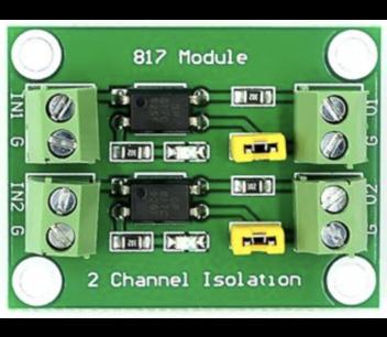 2 kanaals optocoupler board