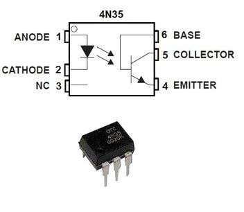 4N35 optocoupler