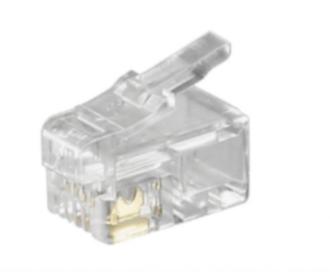 RJ 10 4p4c krimp connector