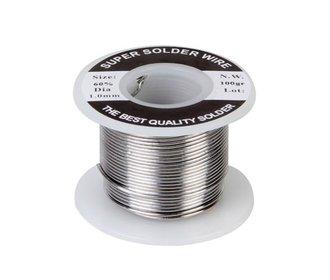 Tin met harskern 1mm 100 gram