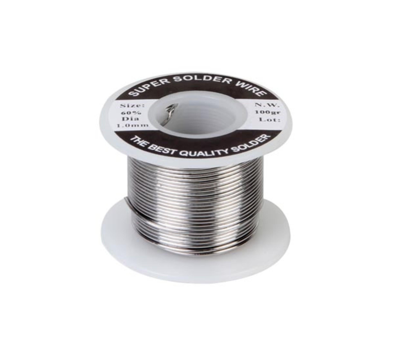 Tin met harskern 1mm 250 gram