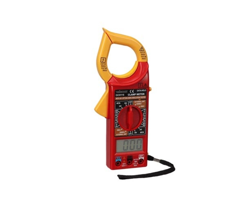 Digitale stroomtang - CAT III 300 V / CAT II 500 V