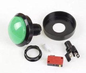 Arcade 63mm Button Groen