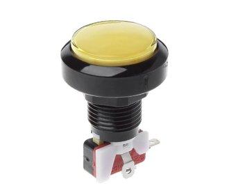 Arcade 63mm Button Geel