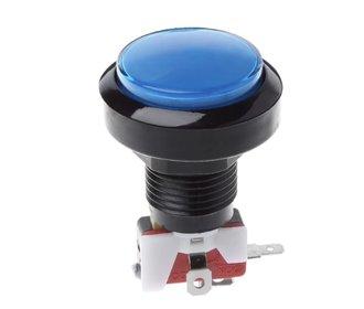Arcade 63mm Button Blauw