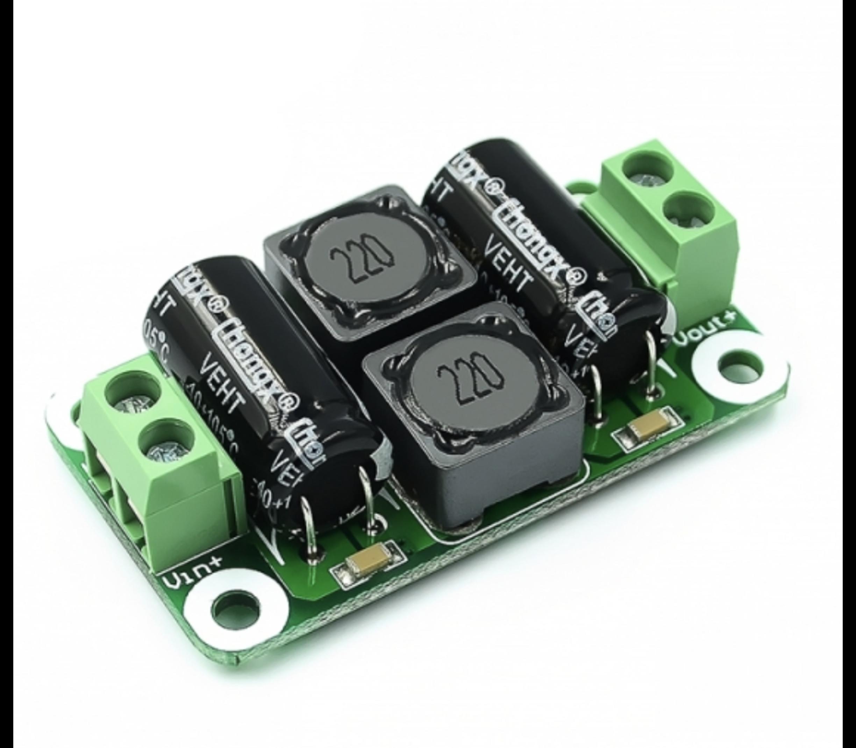 Class D power amplifier voeding filter 0-50V 4A