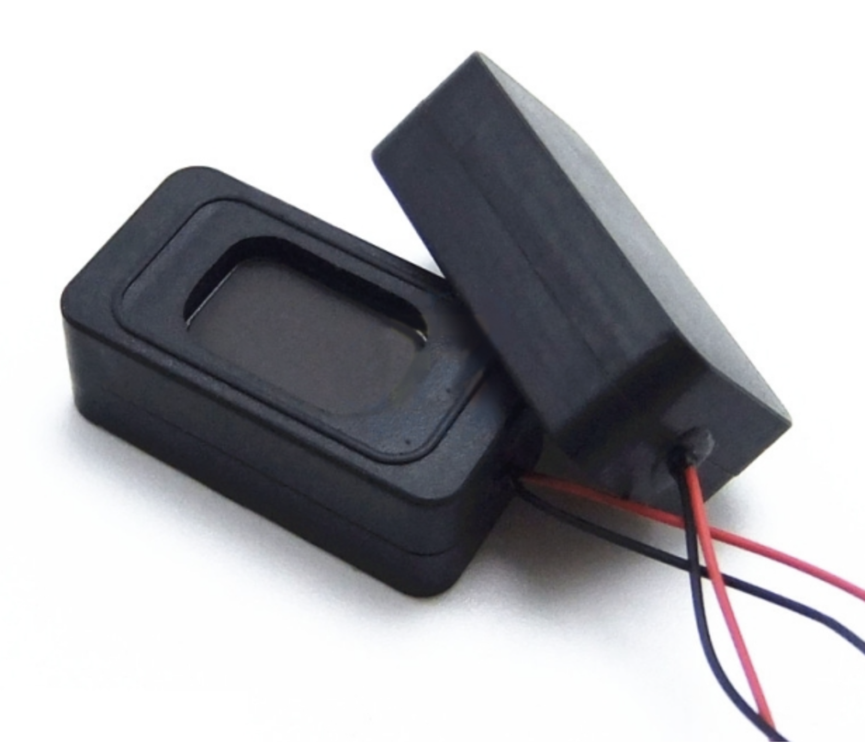 Mini luidspreker boxje 8 ohm 1 watt