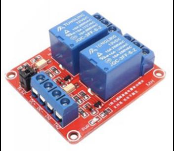 2 kanaals 5v relais board H / L