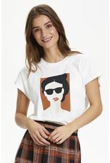 Kaffe Kaffe KAradella T-shirt SS Chalk