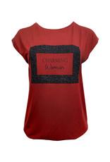 Elvira Elvira T-shirt Charming Cognac E4 20-045