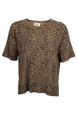 isay Isay Rubi s/s Knit Spotted Tobacco