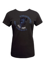 Elvira Elvira T-shirt Tiger E4 20-047 Black