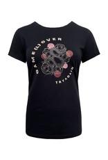 Elvira Elvira T-shirt Game E4 20-022 black