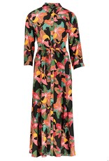 zilch Zilch dress long 02VCR40.202P lilly black 931