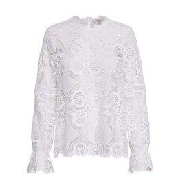 Cream Cream Emma blouse kant