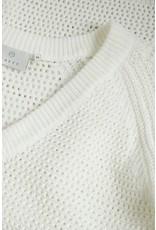 Kaffe KAjolan Knit Pullover Chalk