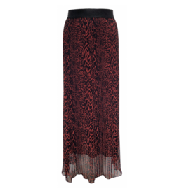 Elvira Elvira Skirt Lianne Plisse Animal print