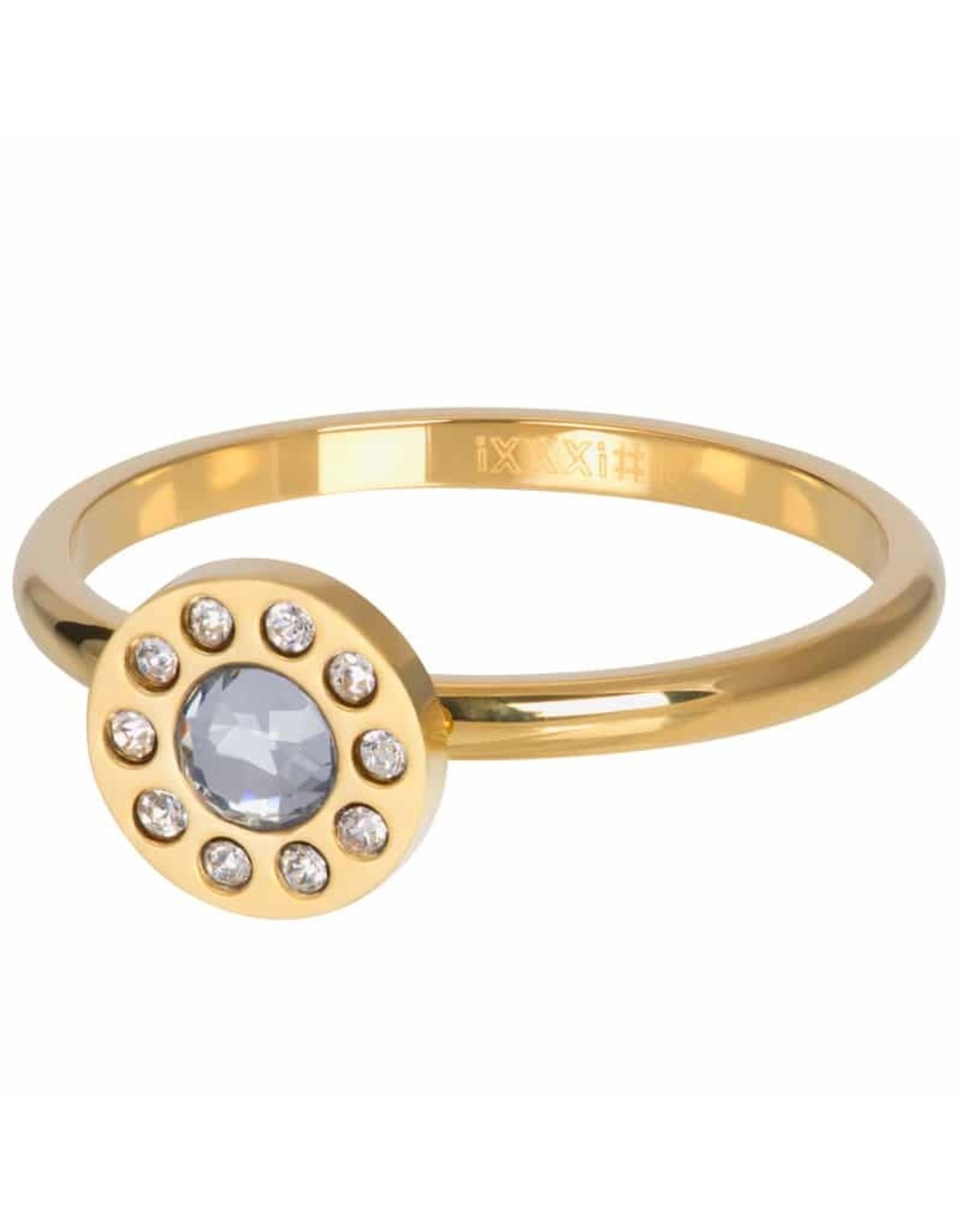 IXXXI IXXXI Diamond Circle ring Gold
