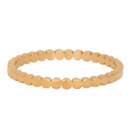IXXXI IXXXI Flat Circles ring Gold